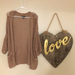 H&M Open Front Cardigan Sweater